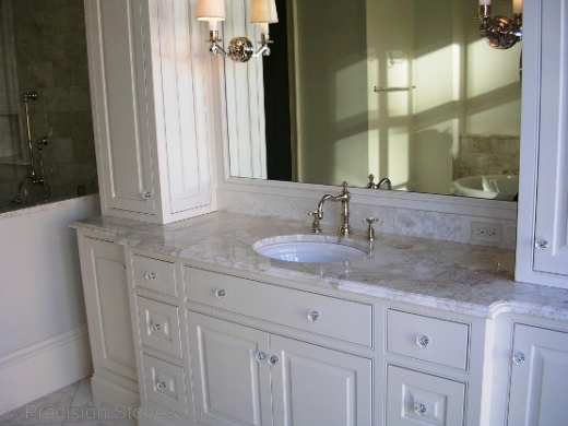 Bathroom Vanities Atlanta atlanta granite countertops | precision stoneworks