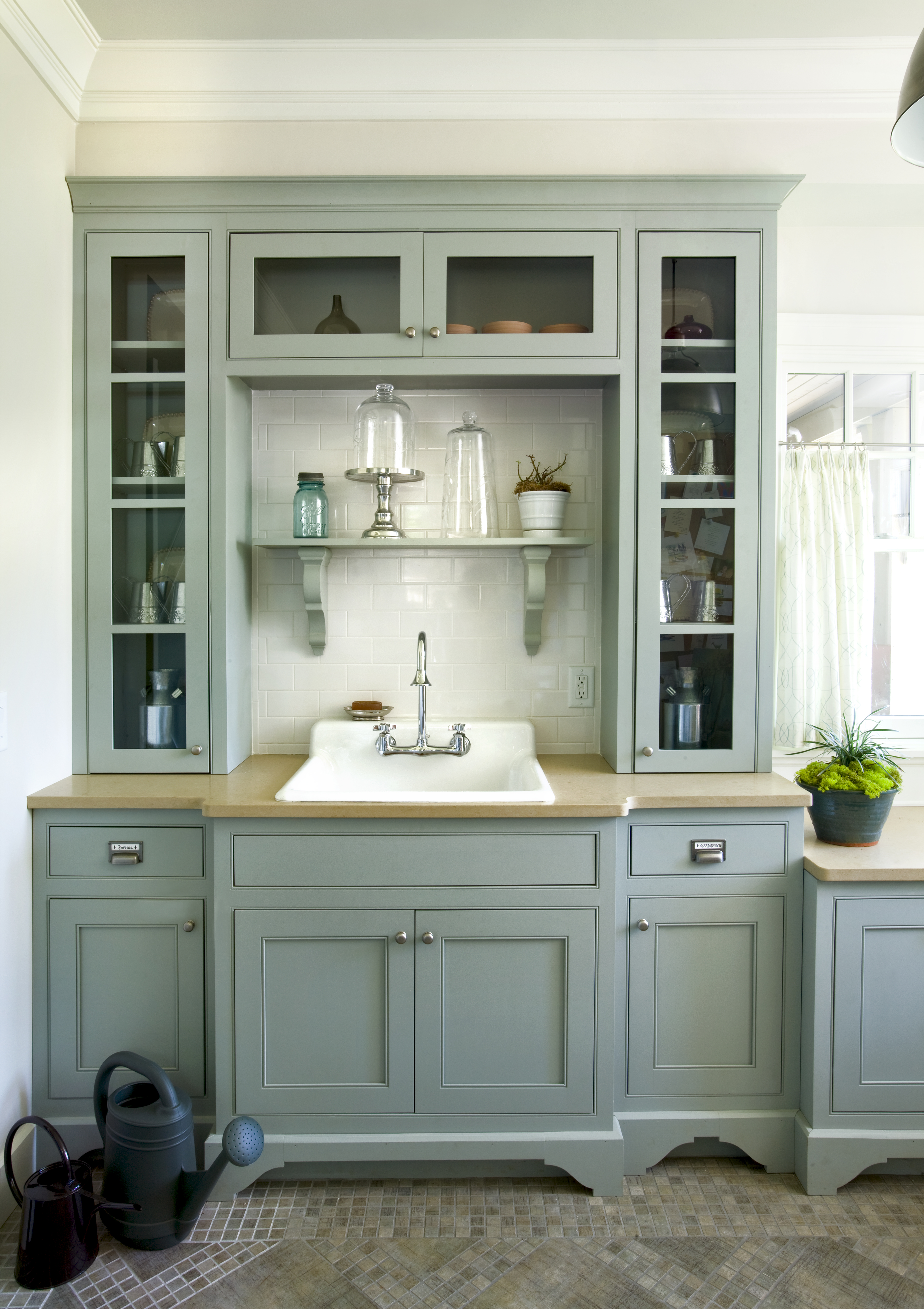 Marble Countertops Kitchen Farmhouse