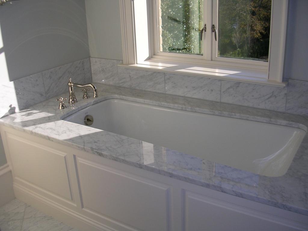 Bathrooms precision stoneworks for Bathtub in bathroom