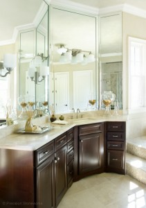 granite bathroom vanities