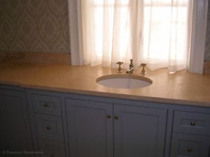 granite-bathroom-vanity-sink-Marfil-Dorado