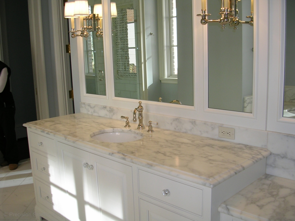 Bathrooms precision stoneworks - Black marble bathroom countertops ...