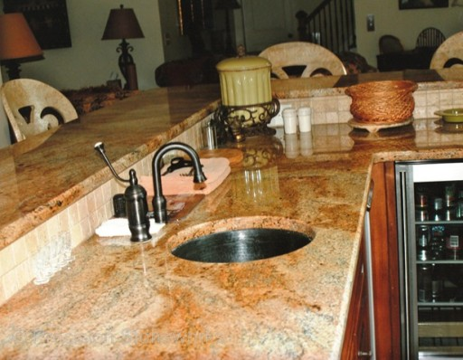 Atlanta Granite Countertop Bar Top