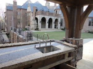 Outdoor Kitchen Granite