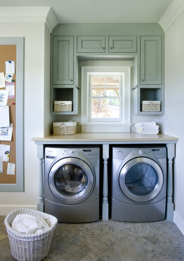 Laundry rooms precision stoneworks for Small utility room